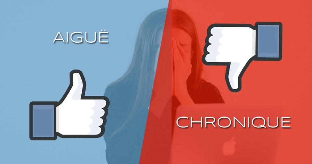 stress chronique vs stress aigue
