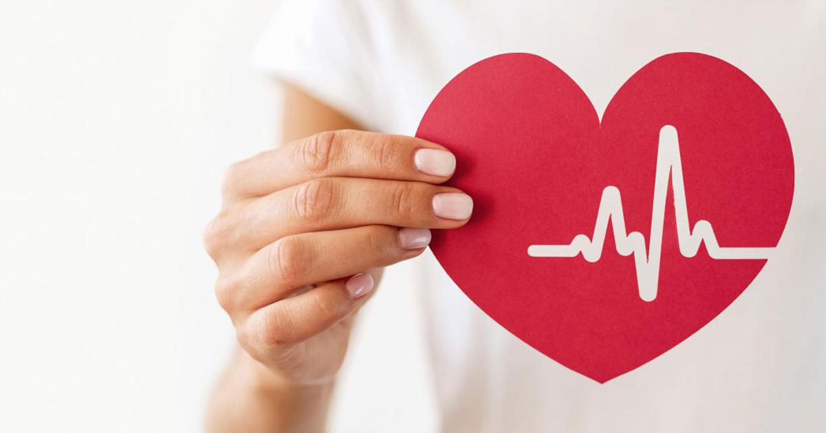 cohérence cardiaque main qui tient un coeur