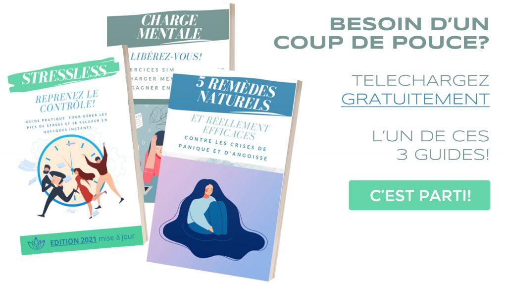 guides gratuits relaxyo gestion des émotions charge mentale crises d'angoisse